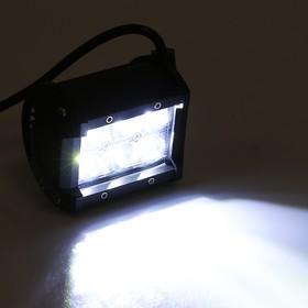 Противотуманная фара 6 LED, IP67, 18Вт, 6000К, 9-30В, направленный свет Ош
