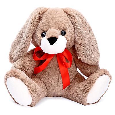 Мягкая игрушка «Кролик Егорка» тёмный, 28 см