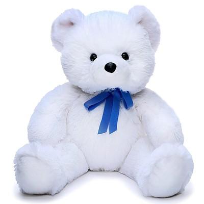 Мягкая игрушка «Медвежонок Стив», цвет белый, 45 см - Фото 1