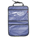 Органайзер на спинку сиденья, с 3 карманами, оксфорд 600, синий