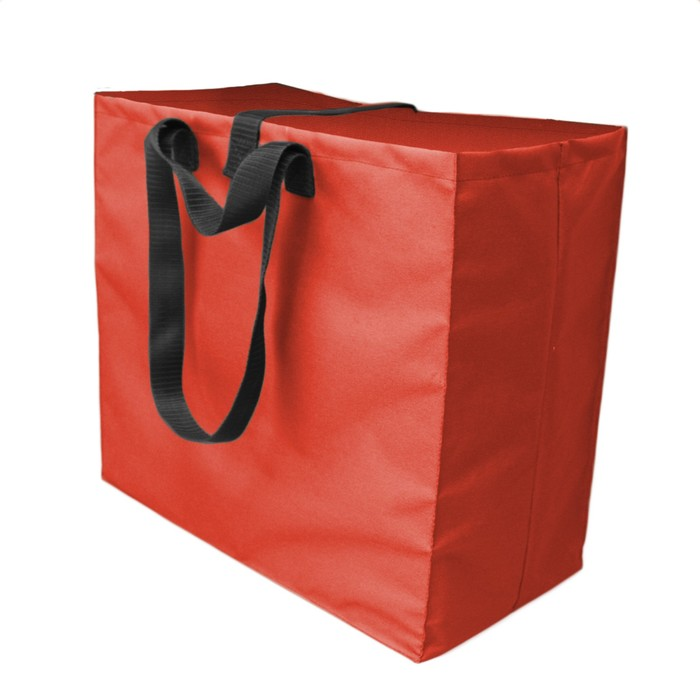 Shopping Bag, оксфорд 600, красный