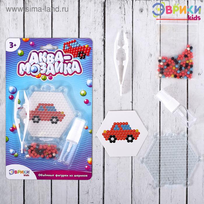 Аквамозаика для детей «Машинка»
