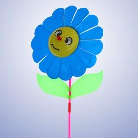 Ветерок «Цветок», цвет синий Ош