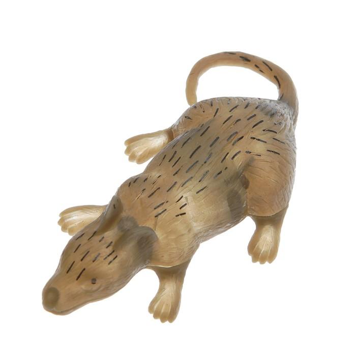 Липучка Мышь, сползает по стеклу, цвета МИКС