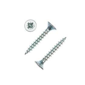 Саморезы универсальные TECH-KREP, ШУц, 4.5х30 мм, цинк, потай, 8500 шт.