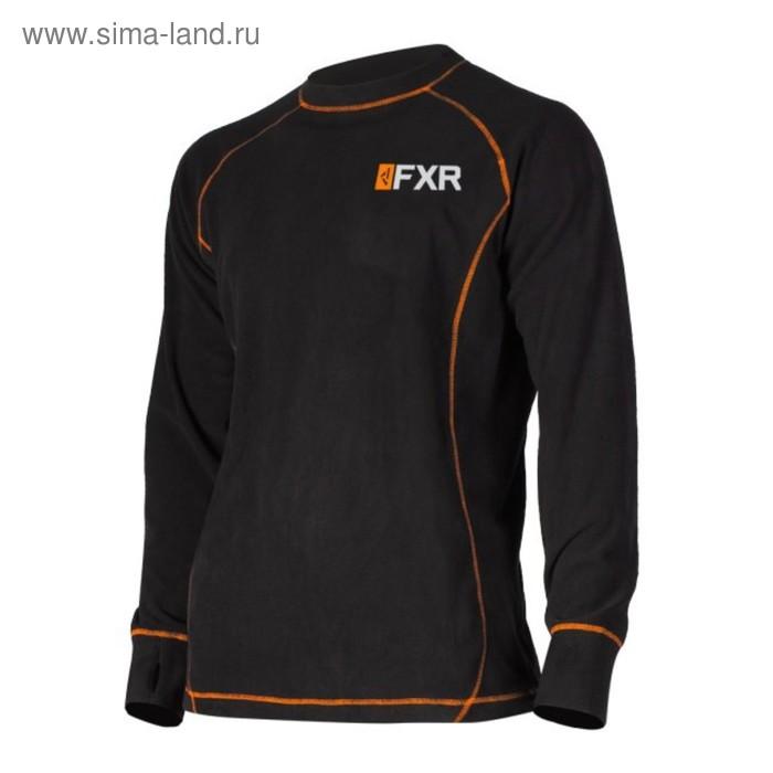 Термокофта мужская Fxr Pyro Thermal, S, Black/orange