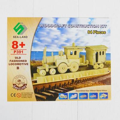 Конструктор «Старый локомотив» - Фото 1