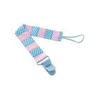 Держатель для пустышки, цвет голубой-розовый ROXY-KIDS