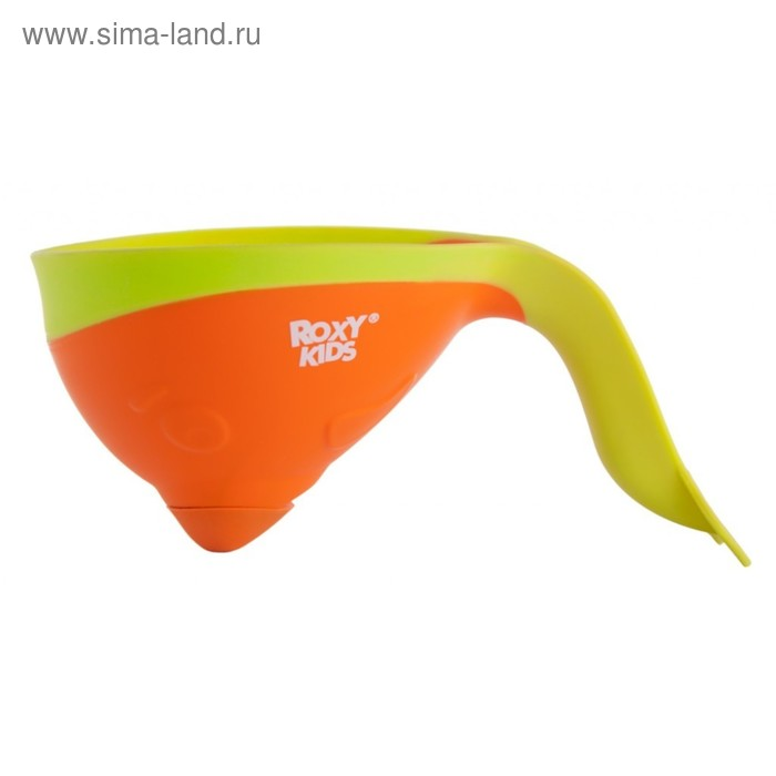 Ковшик для мытья головы Flipper с лейкой, цвет оранжевый ROXY-KIDS