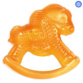 Прорезыватель охлаждающий «Лошадка», цвет МИКС