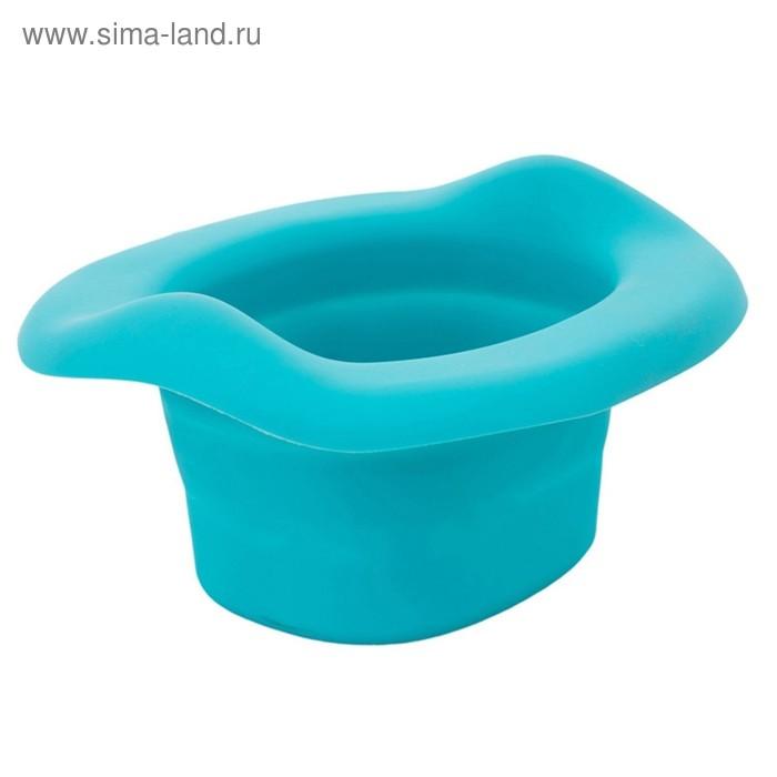 Вкладка универсальная для дорожных горшков, складывающаяся, цвет голубой ROXY-KIDS