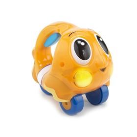 Игрушка «Исследователь океана», со звуковыми и световыми эффектами, оранжевая