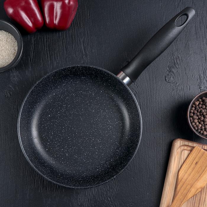 Сковорода «Neva Granite», d=24 см, литая, противопригарная