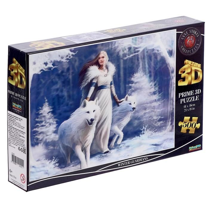 3D пазл 500 элементов «Зимние стражи»