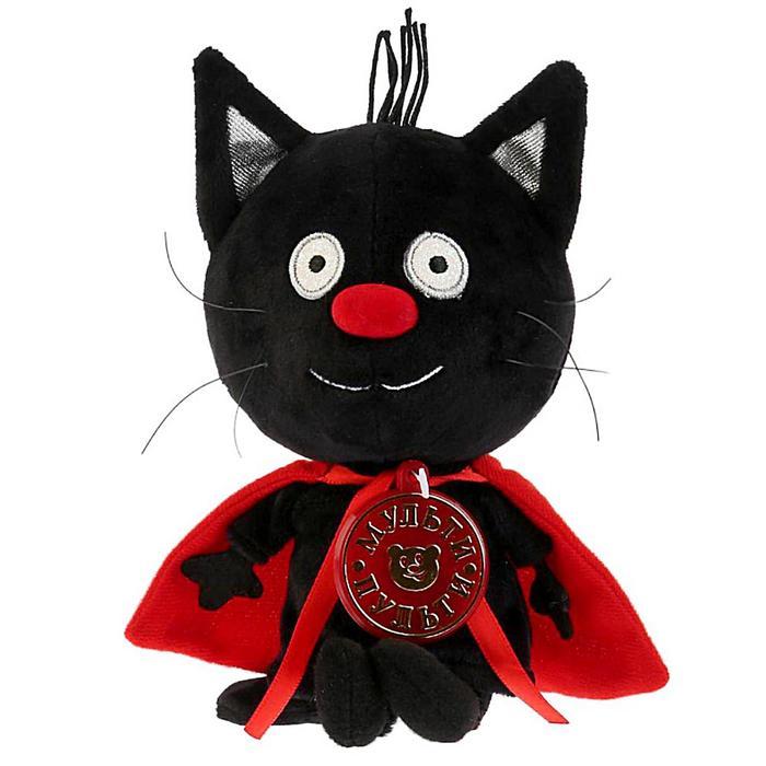 Мягкая музыкальная игрушка Сажик, 12 см, Три кота