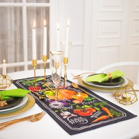 Дорожка на стол 'Этель' Delicious Fresh  30х70 см, 100% хл, саржа 190 гр/м2 Ош