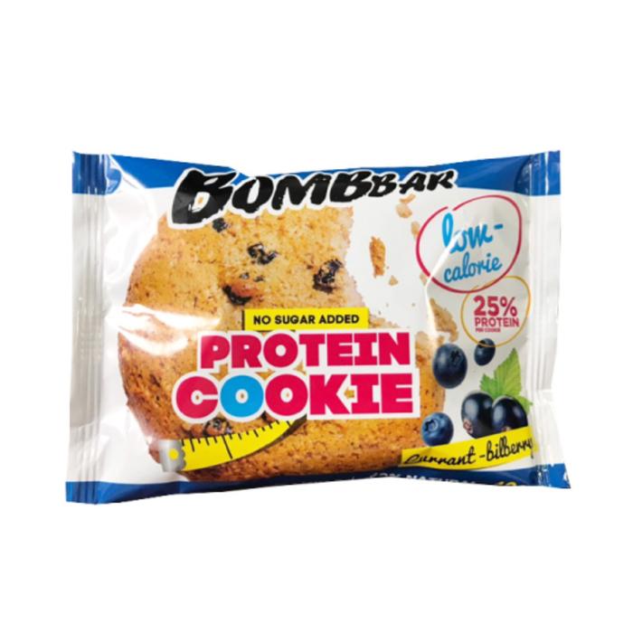 Протеиновое печенье BOMBBAR, смородина-черника, 40 г