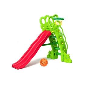 Спортивно-игровой комплекс: горка «Горошина»+ баскетбольное кольцо