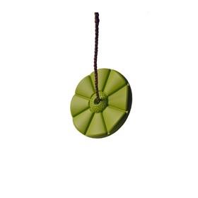 Качели диск «Лиана», цвет салатовый