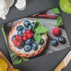 Доска разделочная «Летний десерт», 23×16 см