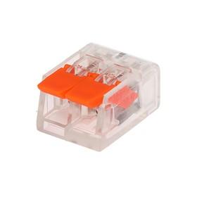 Строительно-монтажная клемма Luazon Lighting СК-221-412, 32А, 0.14-4 мм2, 2 отверстия Ош