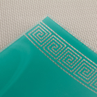 Блюдо «Версаче», 19×9 см, цвет бирюзовый - Фото 3
