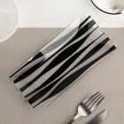 Блюдо «Волна», 19×9 см цвет чёрный - Фото 2