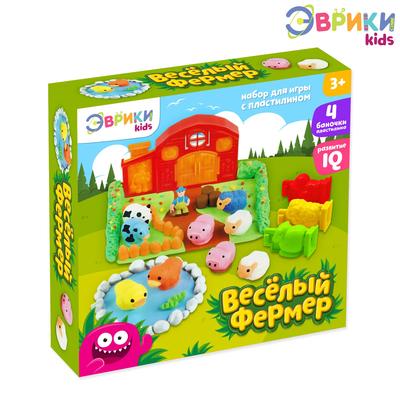Набор для игры с пластилином «Весёлая ферма»
