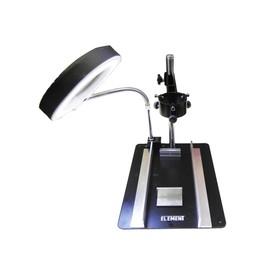 Рабочий стол ELEMENT 628TD-III, с держателем фена и платы, лупа с подсветкой