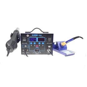 Профессиональная паяльная станция ELEMENT 702, вентиляторная, цифровая, 650 Вт, 100-480 °С