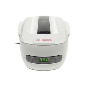 Ультразвуковая ванна AMEGA-5801, 1.4 л, 60 Вт, 42 кГц, от 1 до 30 мин, пластиковый корпус Ош