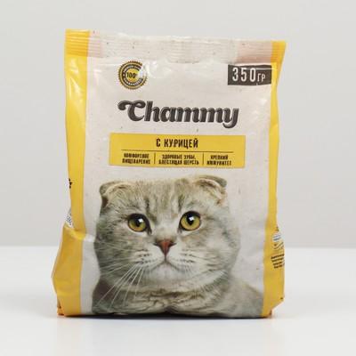Сухой корм Chammy для кошек, курица, 350 г - Фото 1