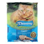 Сухой корм Chammy для кошек, рыба, 350 г