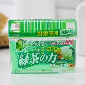 Дезодорант-поглотитель неприятных запахов Kokubo «Зелённый чай», для холодильников, 150 г
