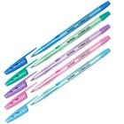Ручка шариковая Tribase Pastel, узел 0.7 мм, чернила синие, микс