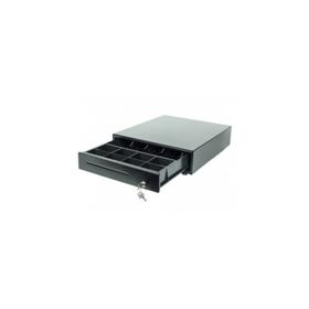 Денежный ящик Poscenter 13МK 350x405x90, механический, PUSH, черный (KET-350)