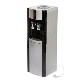 Кулер для воды LESOTO 16 LD/Е, с охлаждением, 615 Вт, черно-серый