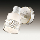 Светильник с выкл. MATISO 40Вт E14 белый