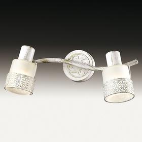 Светильник с выкл. MATISO 2x40Вт E14 белый