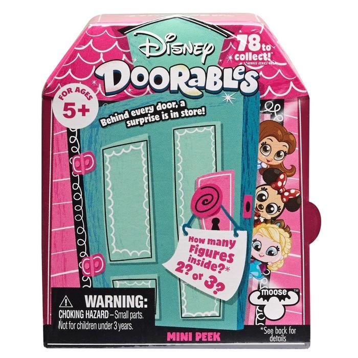 Мини набор сюрприз Disney Doorables, с 2 фигурками