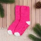 Носки детские Collorista, размер 14 (1-2 года), цвет розовый/белый