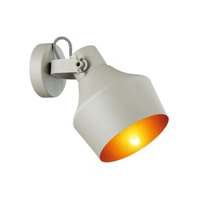 Светильник OSTA 40Вт E27 серый