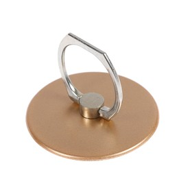 Держатель-подставка с кольцом для телефона LuazON, в форме круга, цвет золото Ош