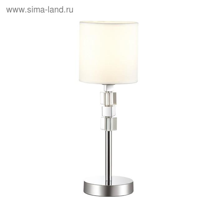 Настольная лампа PAVIA 40Вт E27 хром
