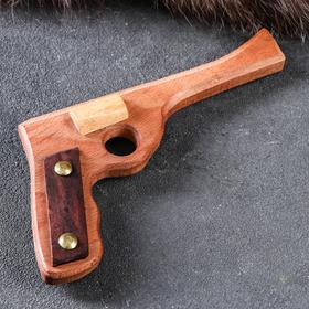 """Сувенирное деревянное оружие """"Пистолет Шериф"""", 20 х 11 см, массив бука"""