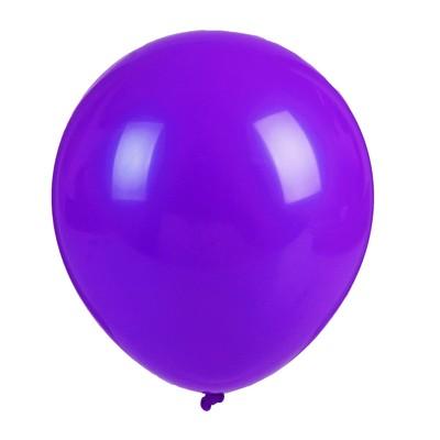 """Шар латексный 36"""" «Гигант», 1 шт., цвет фиолетовый"""