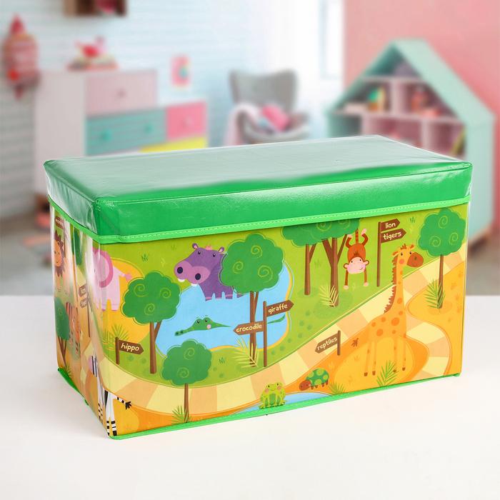 """Короб для хранения 49×31×31 см """"Зоо"""""""