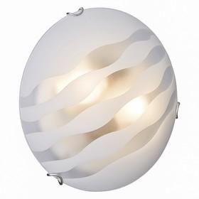 Светильник ONDINA 2x60Вт E27 хром, белый