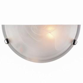 Светильник DUNA 1x100Вт E27 хром, белый