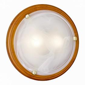 Светильник NAPOLI 2x60Вт E27 золото, коричневый